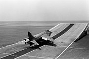 FRS.1 ski-jump take-off HMS Invincible
