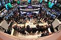 FT ringing the Closing Bell at the NYSE (8740578883).jpg