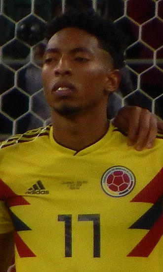 Johan Mojica - Mojica with Colombia at the 2018 FIFA World Cup