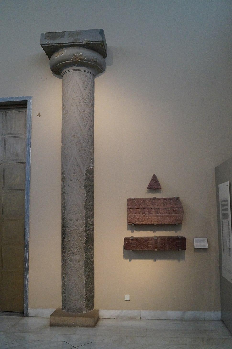 Facade of Treasury of Atreus 1