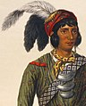 Face detail of Osceola from- Asseola, a Seminole leader (cropped).jpg