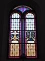 Faedo, chiesa del Santissimo Redentore, interno - Vetrate 04.jpg