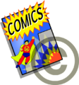 Fair use icon - Comics.png