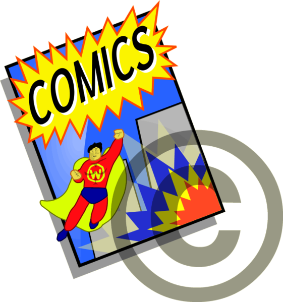 Talaksan:Fair use icon - Comics.png