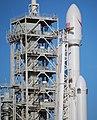 Falcon Heavy — Closeup of Upper Section (39442569544).jpg