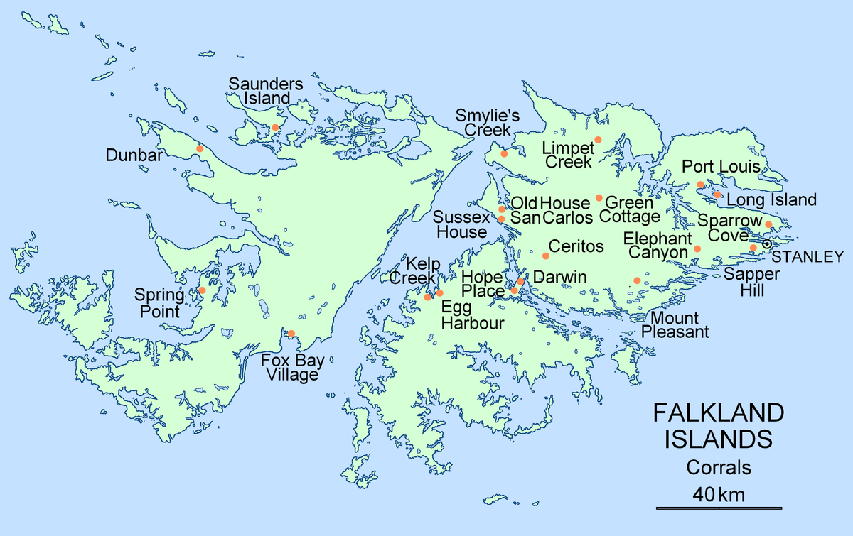 a history of the falkland islands in south america Stanley, formerly known as port stanley, is the capital of the falkland islands this city was founded in 1843, and as of 2012 the town had about 2,100 inhabitants, about three-quarters of the archipelago's inhabitants.