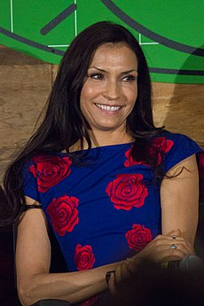 Famke Janssen at ATX 2014.jpg