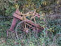 Farm machinery abandoned by bridleway (geograph 2163374).jpg
