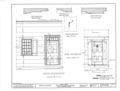 Fauntleroy House, Ponus Ridge, New Canaan, Fairfield County, CT HABS CONN,1-NECA.V,1- (sheet 8 of 9).png