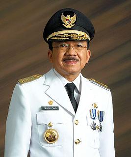 Fauzi Bowo Indonesian politician