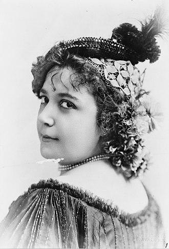 Fay Templeton - Templeton c. 1895
