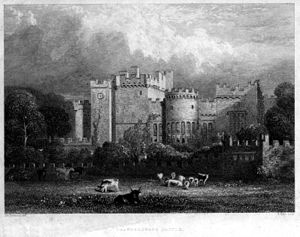 Featherstone Castle - Featherstone Castle by William Miller