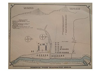 Fort Machault - This map, from 1879 History of Venango County Pennsylvania, depicts the area where the fort was stationed. This is current-day Franklin, Pennsylvania.