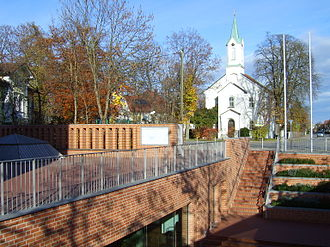 Feldkirchen, Upper Bavaria - Image: Feldkirchen Church 1837