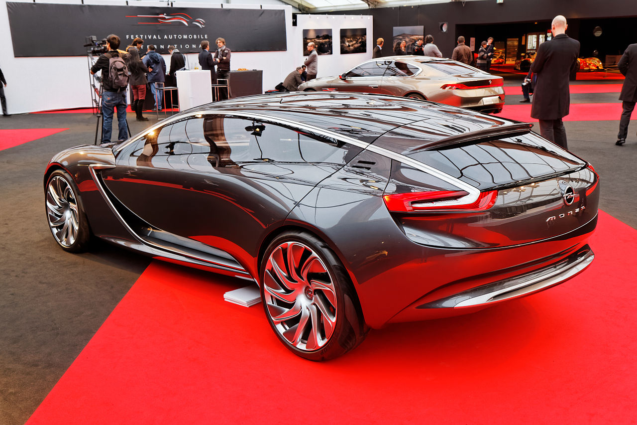 file festival automobile international 2014 opel monza concept wikimedia commons. Black Bedroom Furniture Sets. Home Design Ideas