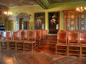 Wilhelmsburg Castle - Ballroom