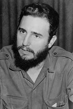 Fidel Castro in the 1950s. Image: Unknown (Mondadori Publishers).