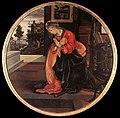 Filippino lippi, annunciata, museo civico di san gimignano.jpg