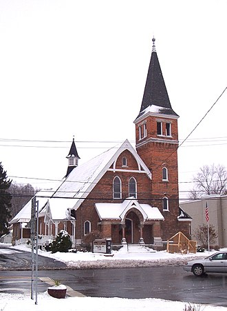 First Baptist Church of Camillus - Image: First Baptist Church Of Camillus 2007 12 14