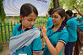 First Aid and Emergency Management Session - Summer Camp - Nisana Foundation - Sibpur BE College Model High School - Howrah 2013-06-08 9193.JPG