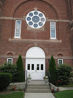 First Methodist Episcopal Church of Avon United States historic place