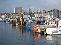 Fishing boats in Sutton Harbour - geograph.org.uk - 1554915.jpg