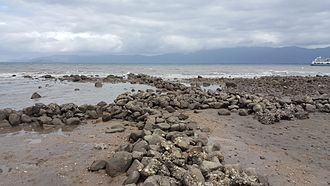 Hinchinbrook Island - Scraggy Point stone fish traps
