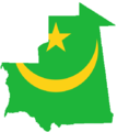 Flag-map of Mauritania.png