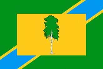 Beryozovsky District, Perm Krai - Image: Flag of Beryozovsky rayon (Perm krai)