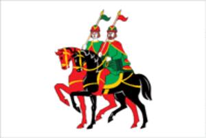 Borisoglebsky District, Yaroslavl Oblast - Image: Flag of Borisoglebsky rayon (Yaroslavl oblast)