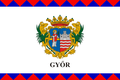 Flag of Győr.png