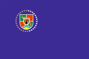 Football in Ukraine - Image: Flag of Luhansk Oblast