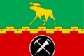 Flag of Metrogorodok District (2004).png