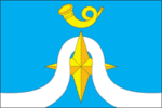 Flag of Nudolskoe (Moscow oblast).png