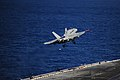 Flickr - Official U.S. Navy Imagery - A jet launches from the flight deck of USS Dwight D. Eisenhower. (1).jpg