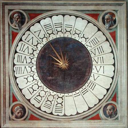 Florence-Duomo-Clock