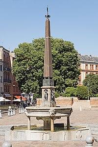 Fontaine de la place Saint-Étienne Toulouse.jpg