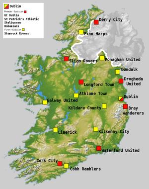 2006 League of Ireland Premier Division - Image: Football league of ireland season 06