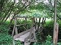 Footbridge over Cockhaise Brook - geograph.org.uk - 1345501.jpg