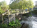 Footbridge over the Tipalt Burn - geograph.org.uk - 990794.jpg