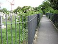 Footpath through Hampstead Cemetery - geograph.org.uk - 530167.jpg