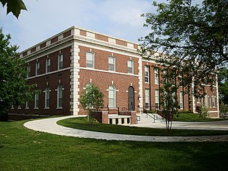 Eastern Michigan University College of Arts and Sciences - Ford Hall home of Ford Gallery