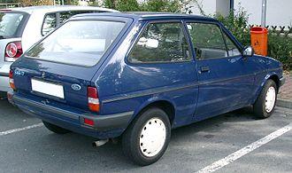 Ford Fiesta - Ford Fiesta Mk2 rear