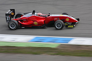 Formula three racing car at Hockenheimring. #2...