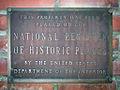 Former Auburn Carnegie Library NRHP plaque.jpg