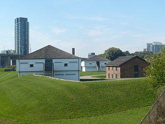 Fort York - Image: Fort York east blockhouse 2
