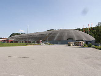 Fosen - Fosenhallen, indoor speed skating rink in Botngård
