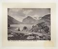 Fotografi av sjö och berg i Schweiz - Hallwylska museet - 103167.tif
