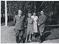 Fra venstre- Vidkun Quisling, fru Fuglesang, ukjent kvinne, Rolf Jørgen Fuglesang. (8615478575).jpg