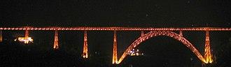 Garabit viaduct - Image: France Viaduc Garabit
